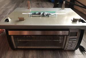 Black & Decker Spacemaker Toaster Oven TROS1000D Under Cabinet W/ Hood Mount