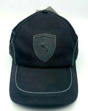 Mütze Ferrari / Puma Lifestyle Cap Schwarz  Kappe Basecap Ferrari Sports Cars