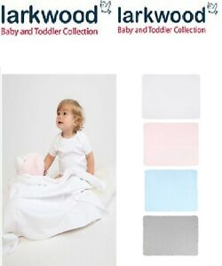 Larkwood Toddler Super Soft Double Layer Blanket Cotton Baby Blanket ONE Size