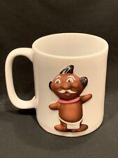 TRADER VIC'S Menehune 14oz white Coffee Mug Cup Tea Tiki Bar Restaurant
