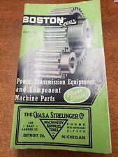 Vintage Boston Gear Catalog #55 1950 Power Transmission Products