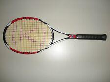 """Wilson K-Factor K Six-One 95X Tennis Racquet 4 1/2 27.5"""" (New Strings)"""