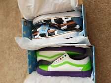 Toy Story Vans Mens Uk 8.5 Buzz & Woody BNIB RARE Toy Story 4 2 Pairs Authentic
