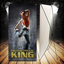 X-BANNER DISPLAY inkl. DRUCK! 60x160cm / Werbe Banner /inkl. TASCHE /wie Roll-Up