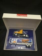 WINROSS favorites Caterpillar Cat Semi TRUCK TRAILER diecast metal MIB