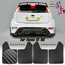 UK MudGuards Mud Splash Flaps For Ford Focus ST RS MK2/ST225 MK3/ST250 mk4 2 3 4