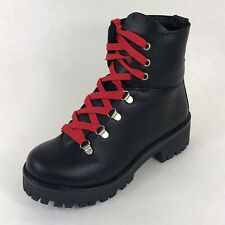 Steve Madden Women's Size 6.5 Single Left Leather Boot Amputee Lace-up Bumper