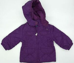Classy Original Baby Quilted Jacket By Tommy Hilfiger Size 12M 74 80