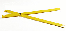 BODY GRIP TRAP SETTER #50 THRU #220 POWDER COATED YELLOW ( YOU CAN'T LOSE THEM )