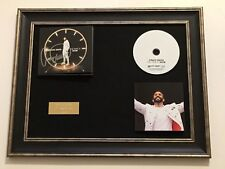 SIGNED/AUTOGRAPHED CRAIG DAVID - THE TIME IS NOW FRAMED CD PRESENTATION