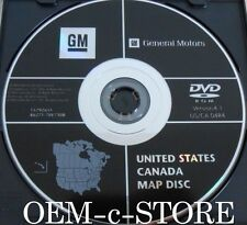 CHEVROLET GM GMC HUMMER GPS NAVIGATION DVD MAP DISC version 4.1 03 04 05 06 SUVs