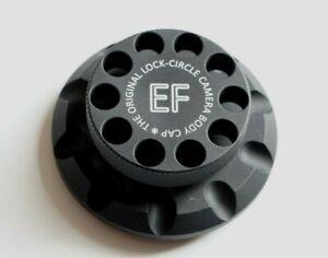 THE ORIGINAL LOCK CIRCLE CAMERA BODY CAP FOR CANON EOS CAMERA 5D MARK IV, 6D MAR