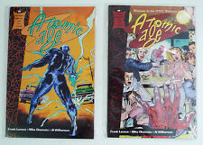 Atomic Age Epic / Marvel Comic Book Lot (1991) #2 & #3