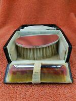 Antique Sterling Silver Hallmarked  Brush Comb Set 1927, William Devenport