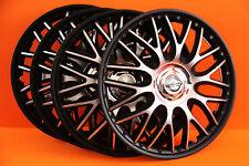 "15"" Nissan Almera,Micra,Note....Wheel Trims / Covers, Hub Caps,black&silver"