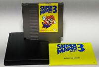 Super Mario Bros. 3 (Nintendo Entertainment System, 1990) 3 Screw Cart w/ Manual