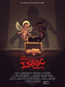 Binding of Isaac Rebirth Poster