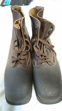 Vintage Men's Varnamo Swedish Military Boots Size 13 1967