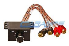 XSCORPION CAR STEREO AMP REMOTE LEVEL CONTROL BASS BOOST KNOB GAIN HOME AUDIO