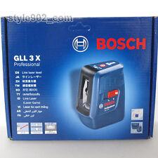 Original Bosch Professional Gll3x Self Level Cross Line Laser Gll 3x Fedex