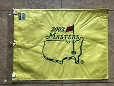 2003 MASTERS FLAG Golf Pin Flag PGA Official Embroidered