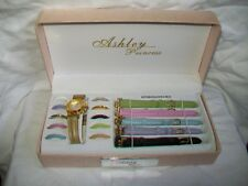 "Ashley Princess Interchangeable Watch - 6 bands, 11 rings - fits 6¼"" to 7 5/8"""