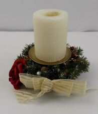 Avon Gift Collection - Winter Garland Pillar Holder With Candle / Box