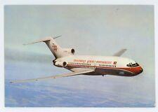 Portuguese Airways Airlines Boeing 727 Airplane Vintage Aviation Postcard