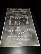 The Northern Pikes Dream Away Rare Original Radio Promo Poster Ad Framed!