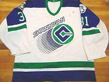 Game Worn Vtg Chl Ccm Shawinigan Cataractes Sebastien Charpentier Jersey Size 56