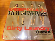 Desperate Housewives Dirty Laundry Game - Tin Box - Factory Sealed