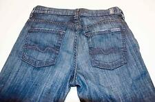 7 FOR ALL MANKIND Seven JEANS 28X30 HIGH WAIST BOOT CUT Made in USA 19J7