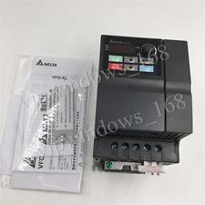 Delta 750W 1HP VFD Driver Inverter 3phase 0~240V 4.2A VFD-EL VFD007EL23A CNC