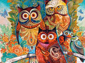 New 2000 pcs pc Puzzle jigsaw Castorland Owls  C-200535 FREE SHIPPING