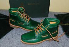 Timberland Aimé Leon Dore Boots 7 Eye Lug Green Leather Size 10 44 oakwell new