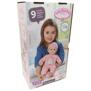 Baby Annabell Doll Little Baby Fun 36cm 9 Functions with Accessories