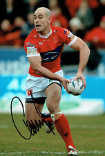 Terry CAMPESE Rugby League Hull KR Signed Autograph Photo AFTAL COA Australian