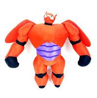 "Big Hero 6 Plush Baymax Mech Armor Disney Authentic 17"" Stuffed Doll Toy - EC"