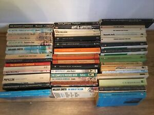 44 X RETRO VINTAGE PAPERBACK Penguin Etc Books JOB LOT BUNDLE Famous Authors