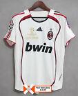 Maglia Milan Finale Champions League 2007 - Calcio Maldini Inzaghi Jersey Final