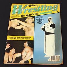 VINTAGE WRESTLING ~ Magazine ~ The Rings Wrestling Magazine ~September 1983~ wwf