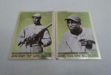 2001 Topps Chrome What could have been 2 Card Lot Henry Pop Lloyd Cool Papa Bell