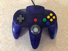 Nintendo64 N64 Controller Funtastic Midnight Blue Grape Tight Stick