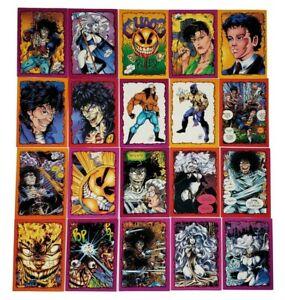 1993 Chaos Comics Brian Pulido Krome 100% Complete Base 100 Card Set Evil Ernie