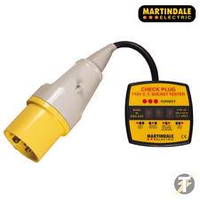 Martindale CP301 3 PIN 110 V CT controllo industriale spina Tester per presa