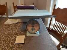 American Family Nursery Scale Baby Scale Boy Blue w/Tag