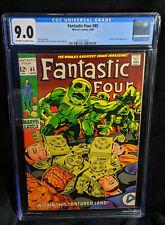 Fantastic Four # 85 CGC 9.0 VF/NM OW/WHITE Universal (1969)