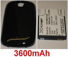 Custodia + Batteria 3600mAh tipo EB-L1K6ILZ per SAMSUNG CHS-i415
