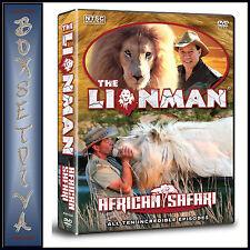 THE LIONMAN - AFRICAN SAFARI  *BRAND NEW DVD***