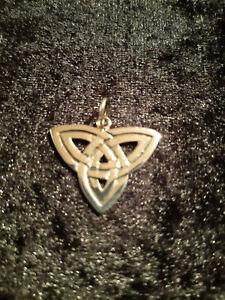 Anhänger Amulett Triquetta Echt Silber 925